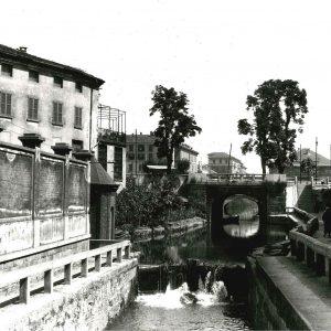 Milano Chiesa Di S Marco E Ponte Delle Gabelle