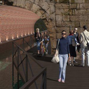 TRATTO B San Marco Ponte Dei Bastioni